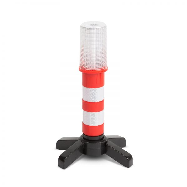 MNC Elakadásjelző lámpa - mágneses - 6 piros LED - elemes - 55760