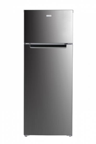 MPM Kombinált hűtőszekrény 206L Inox - MPM-206-CZ-23