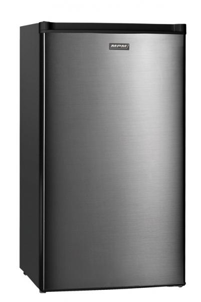 MPM Hűtőszekrény inox 80l+10l fagyasztó Magassága 84 cm - MPM-99-CJ-10/AA